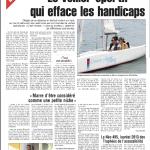 2013 0302 Quotidien-Handi-Voile