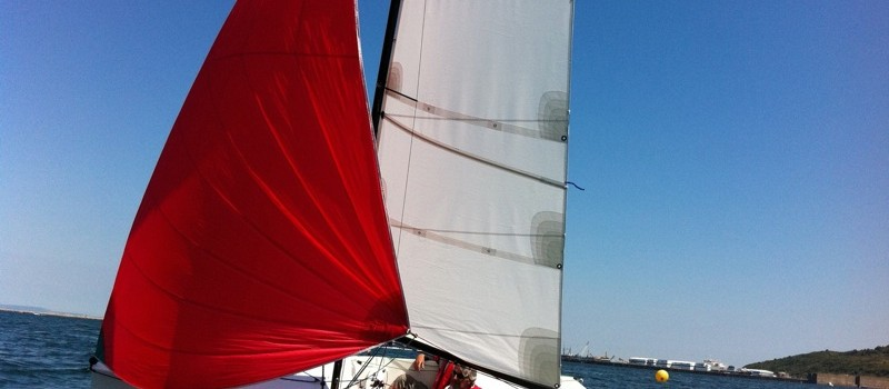 NEO495 sous Spinaker