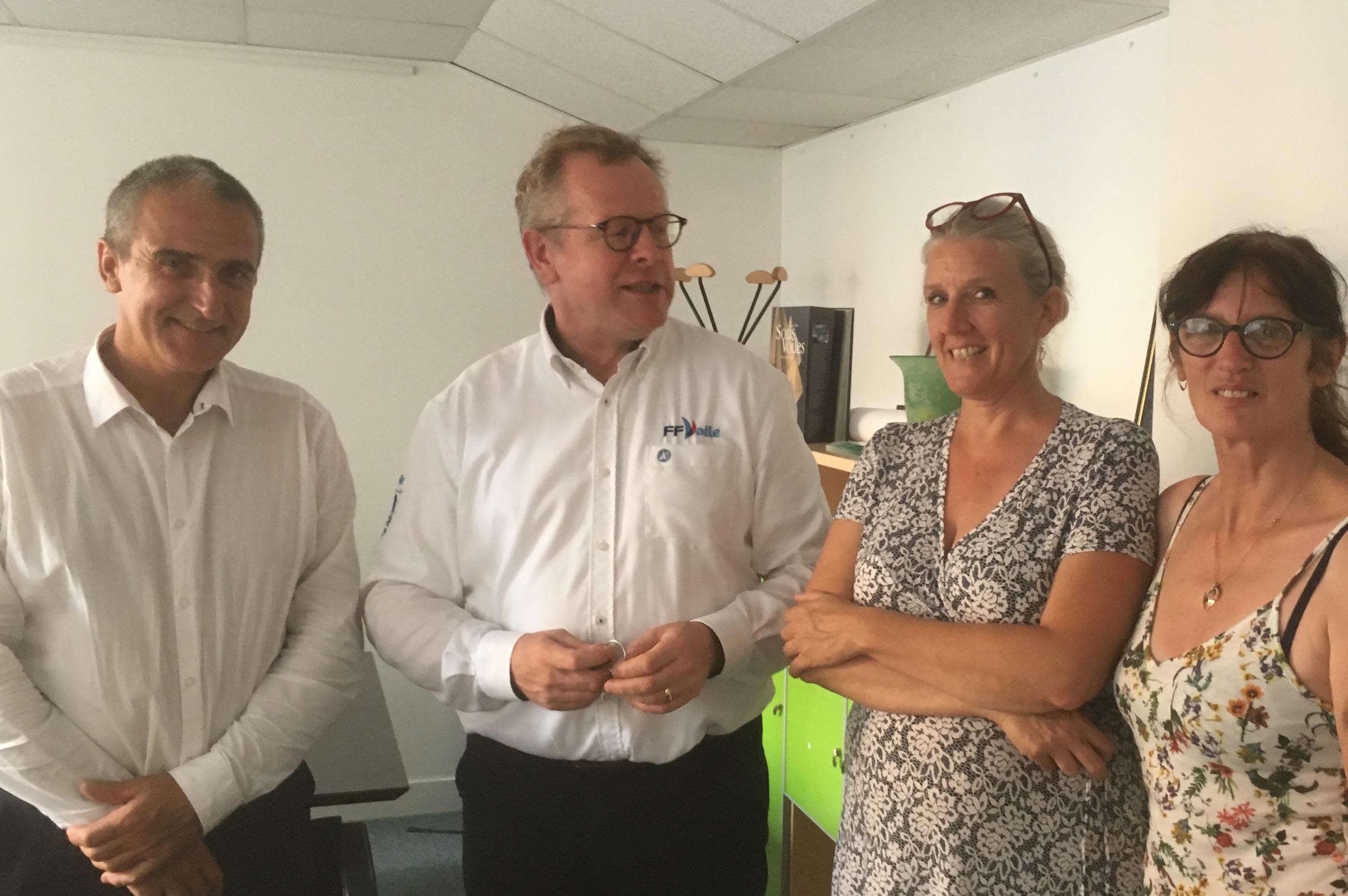 Rencontre avec Nicolas Hénard, President FFVoile